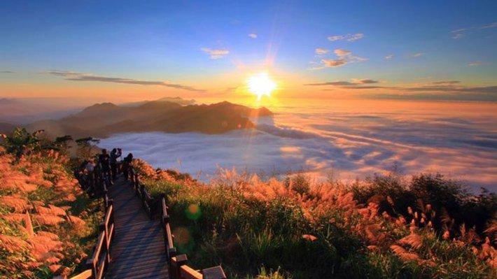 """núi """"A Lý Sơn'' – Alishan"""