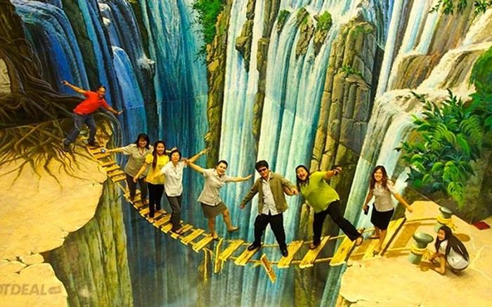 Bảo tàng tranh nghệ thuật 3D Amazing Art